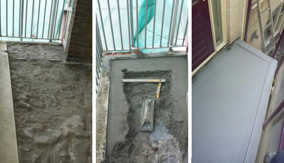 Vloer Voor Balkon : Balkon reparatie wormer